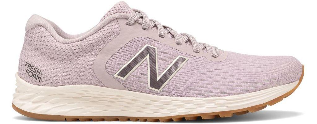 pink New Balance shoe