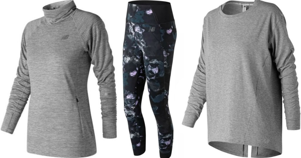 New Balance Shirts and a pair of leggings