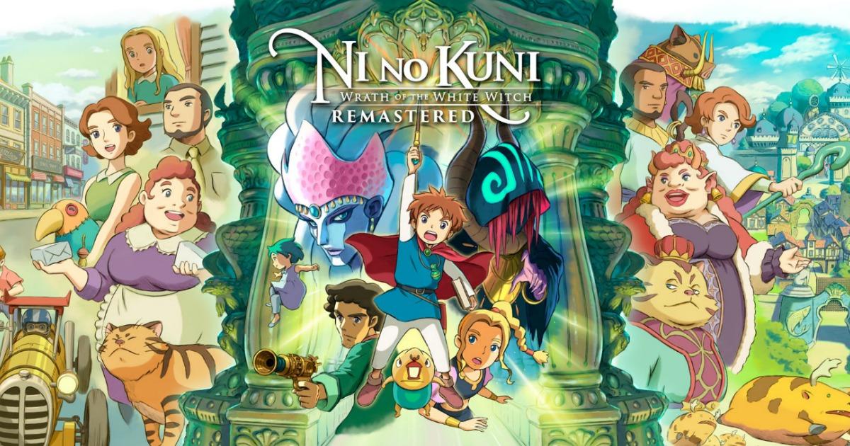 Ni NO Kuni video game art