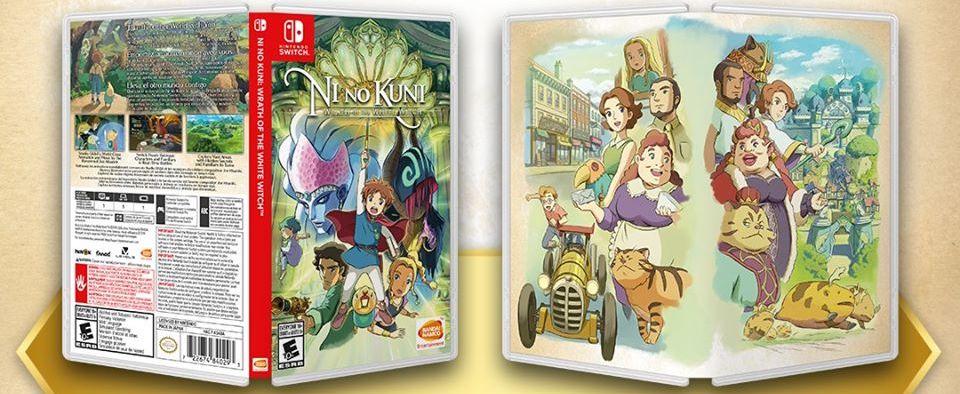 Ni No Kuni videogame Case