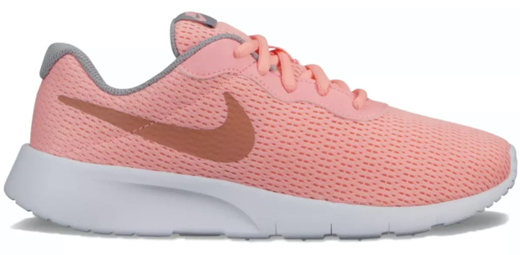 pink girls sneaker