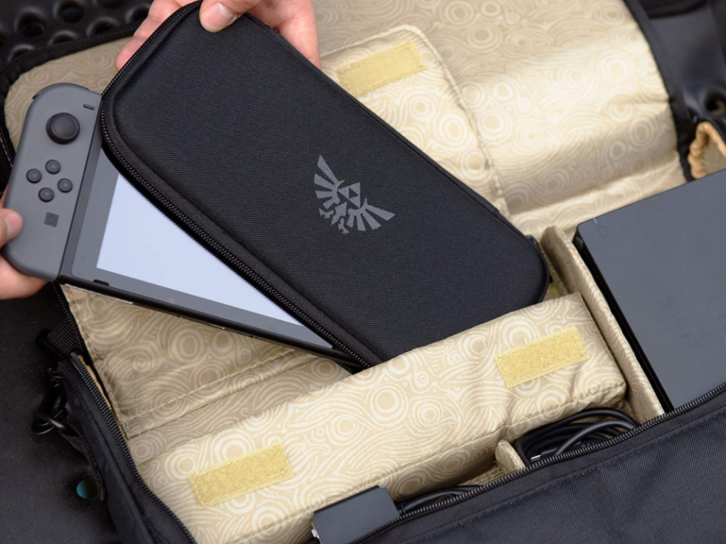 Zelda Nintendo Switch Bag and case with Switch