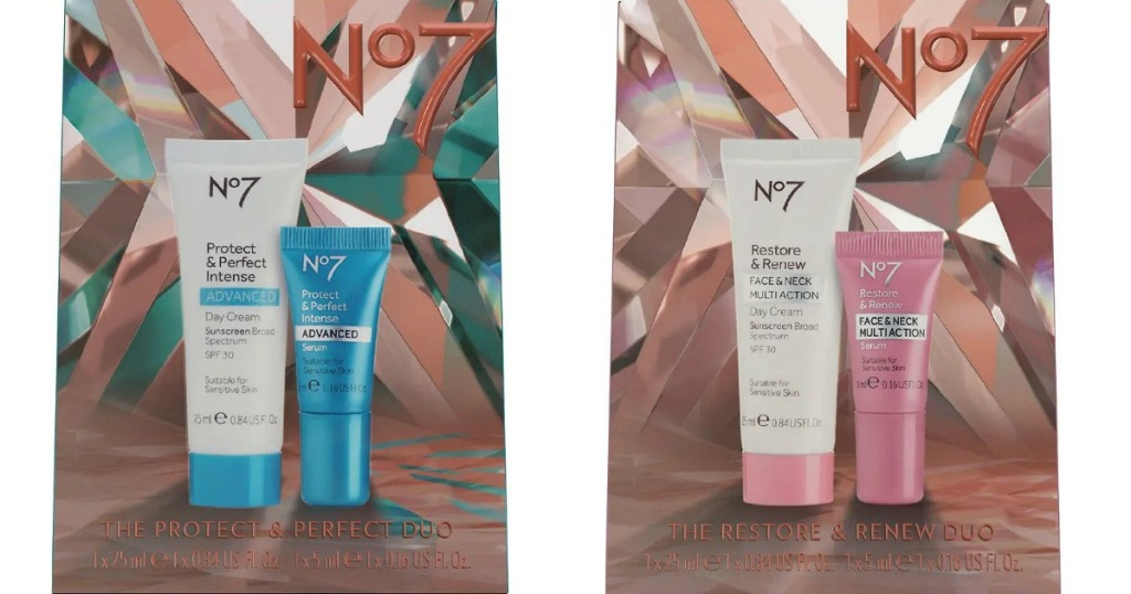 two No7 Gift Sets