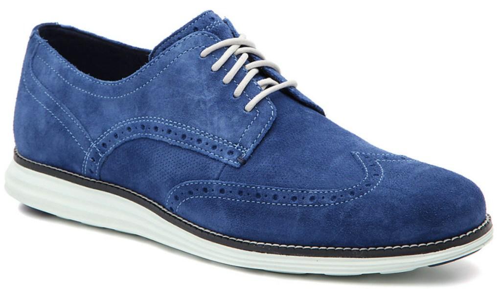 men's blue oxford shoe