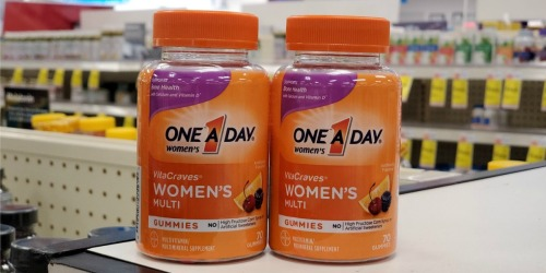 New $3/1 One a Day Coupon = Women's Gummies Only $3.99 Each at CVS