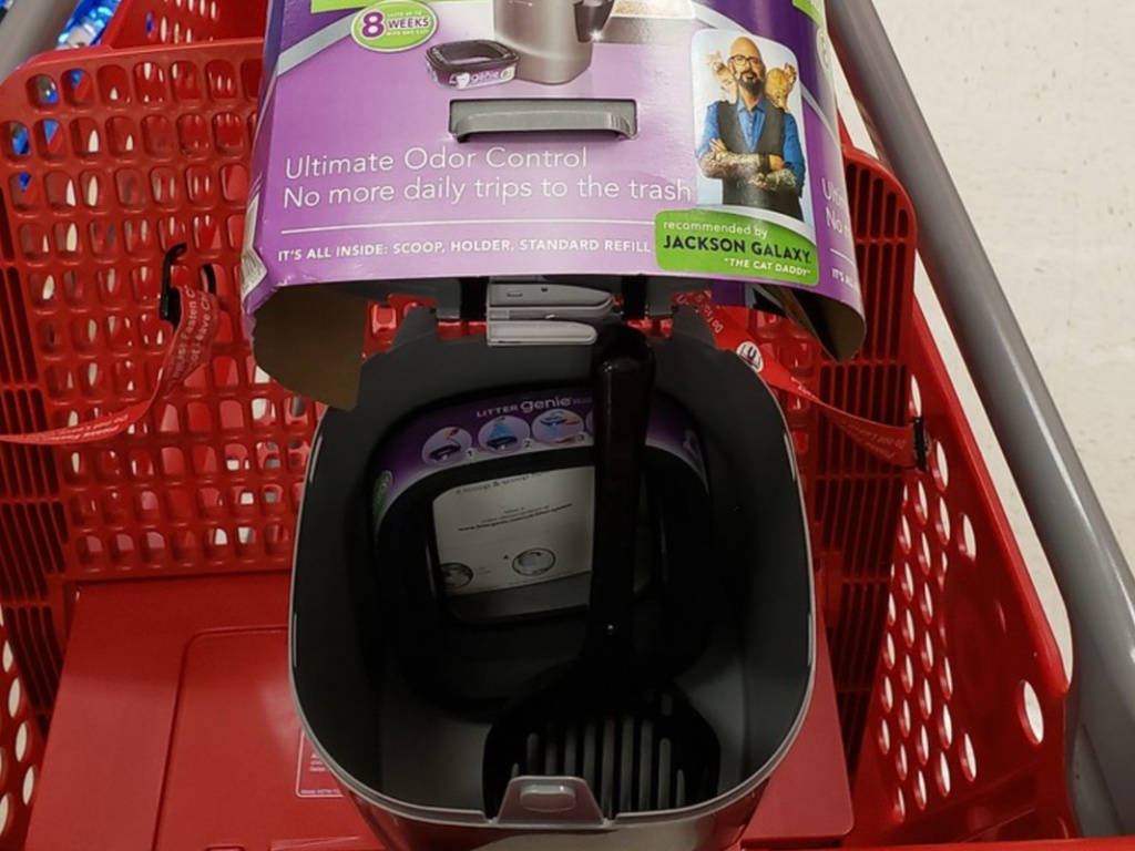 kitty litter pail and scoop