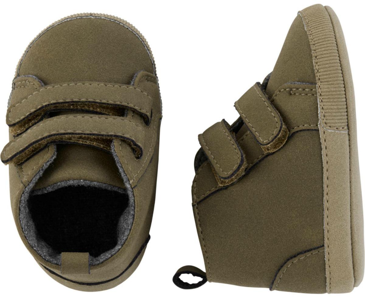 brown OshKosh baby shoes