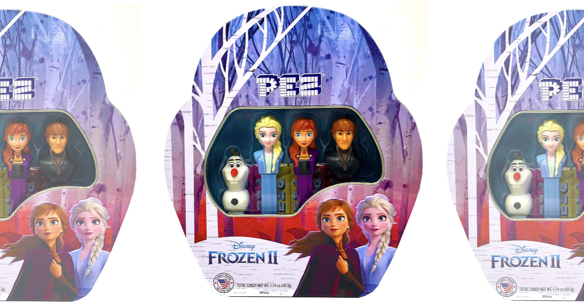 Frozen PEZ dispenser