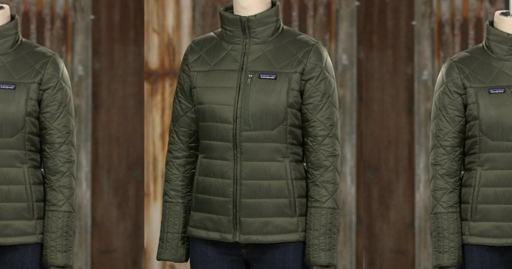green patagonia jacket