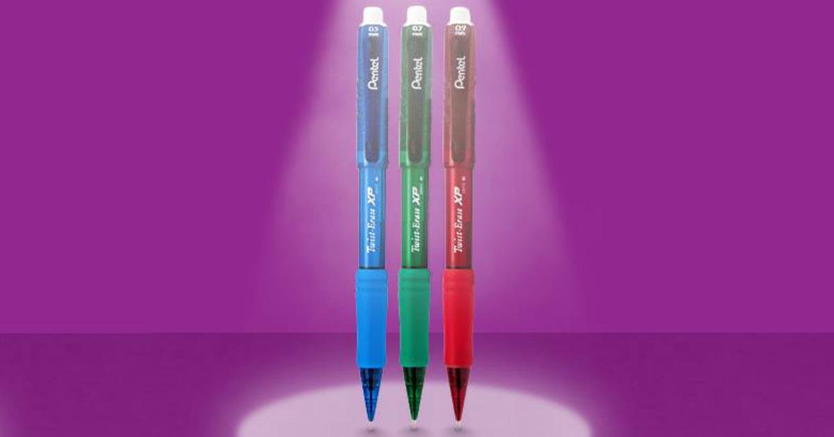 three Pentel Mechanical Pencils