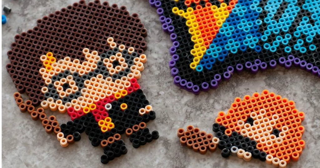 harry potter characters made out of beads