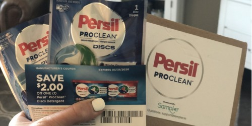 FREE Persil ProClean Laundry Detergent Sample AND High Value Coupon
