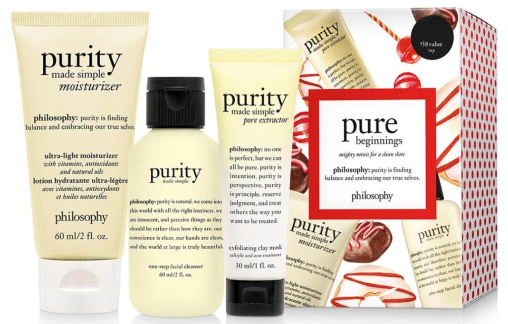Philosophy 3-Piece Pure Beginnings Purity Gift Set