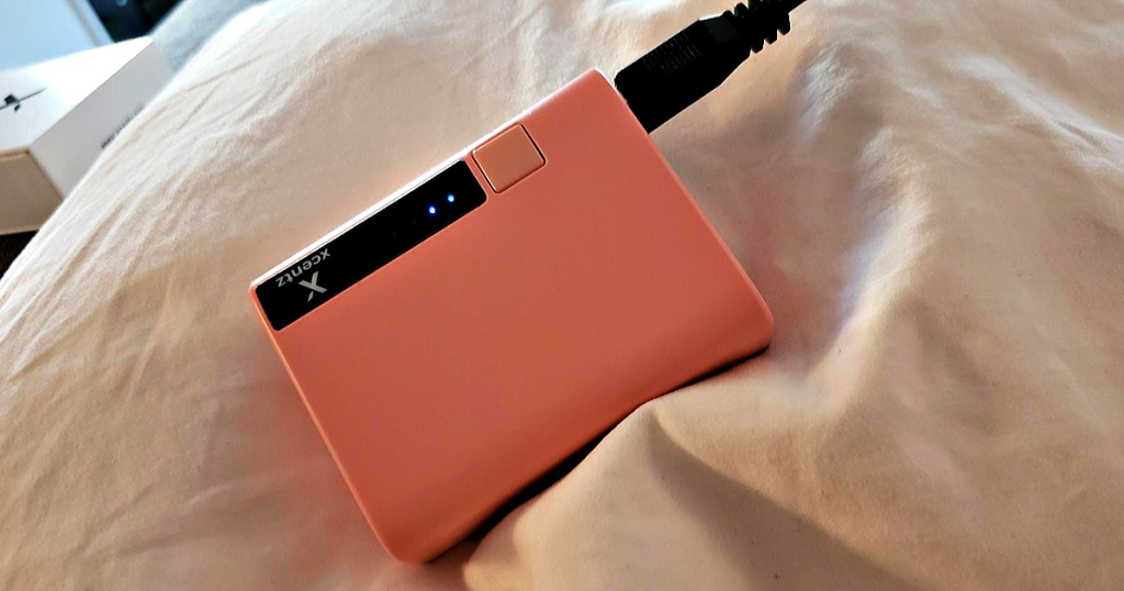 Pink Xcentz Portable Charger