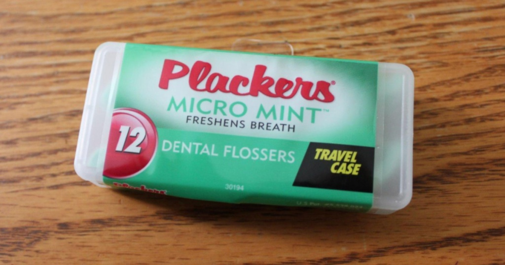 Plackers Micro Mint with Travel case