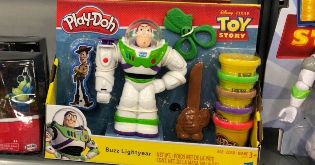 Play-Doh Toy Story Set on shelf at a store