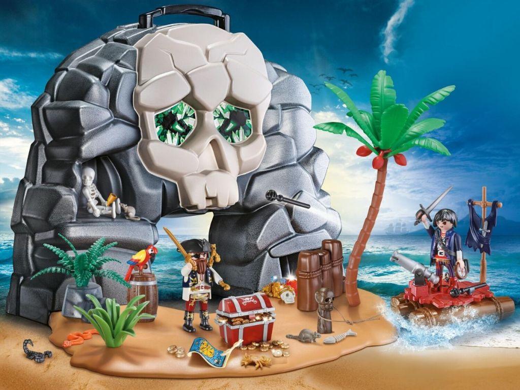 Playmobile Skull Island Play Set