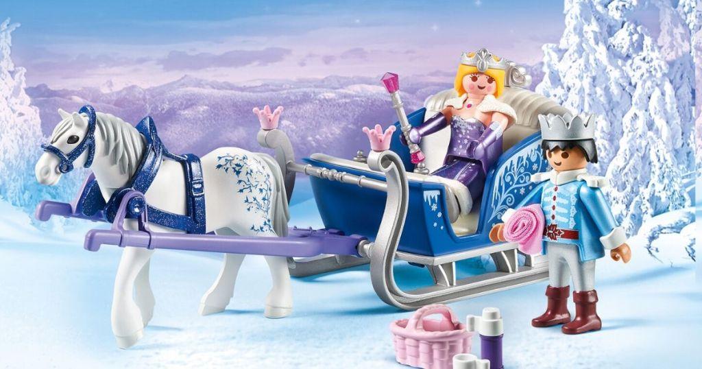 Playmobile Sleigh Playset