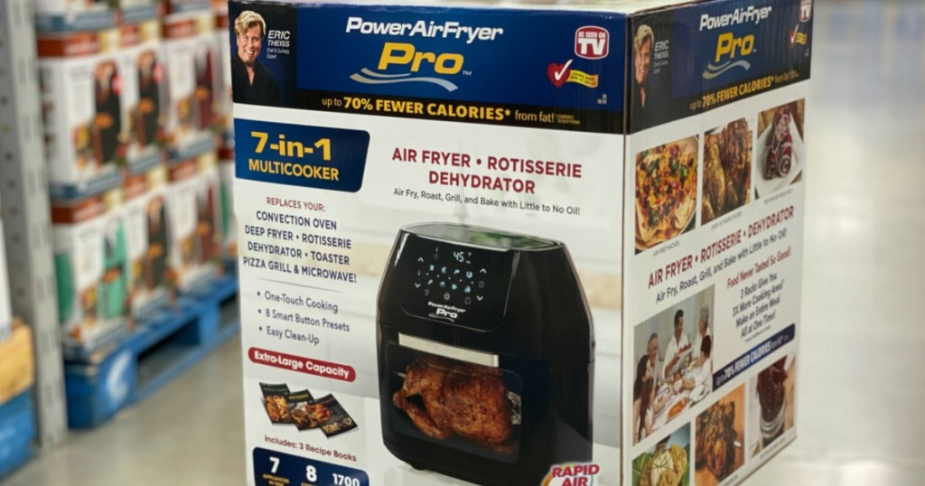 Power Airfryer 6 Quart Pro Oven Only 97 49 Shipped For Kohl S