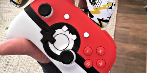 Poké Ball Edition Wireless Nintendo Switch Controller Only $24.99 on BestBuy.com (Regularly $50)