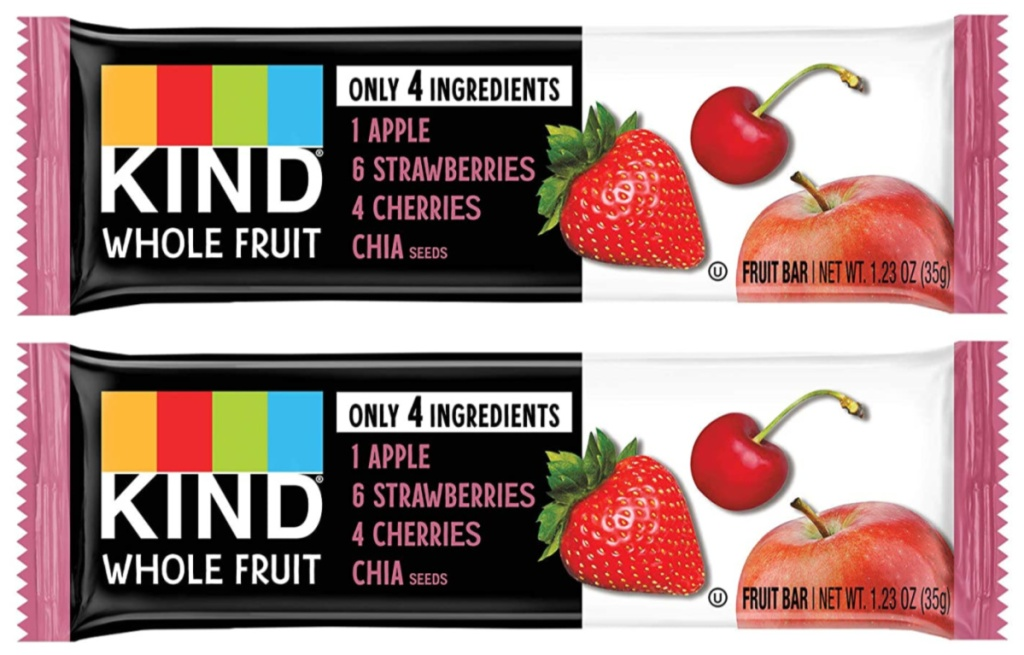 Pressed by KIND Strawberry Apple Chia Fruit Bars