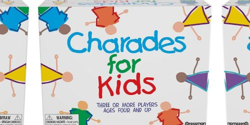 Charades For Kids Game Only $7.49 on Joann.com