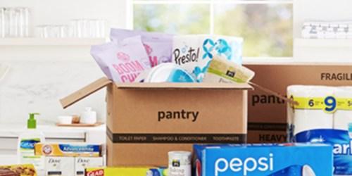 Amazon Prime Pantry is Open Again