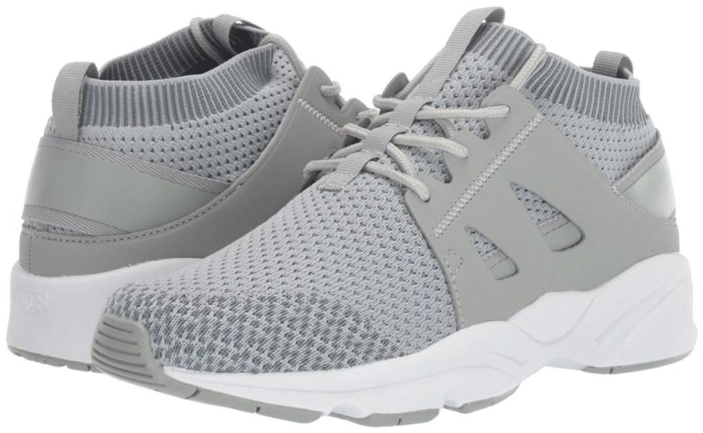 women's grey sneakers