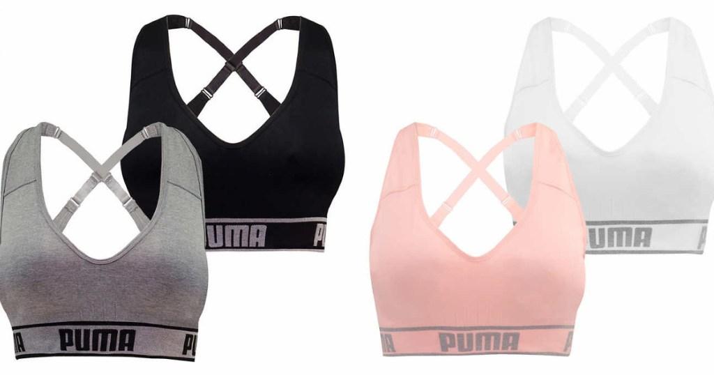 Puma women's sports bras