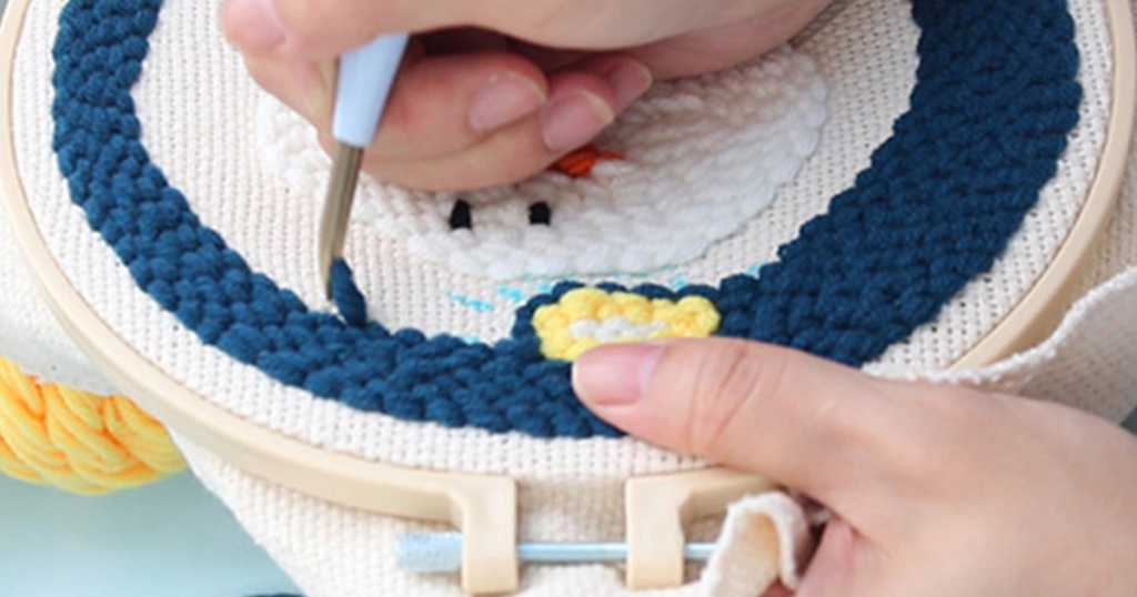 Punch needle craft kit on zulily