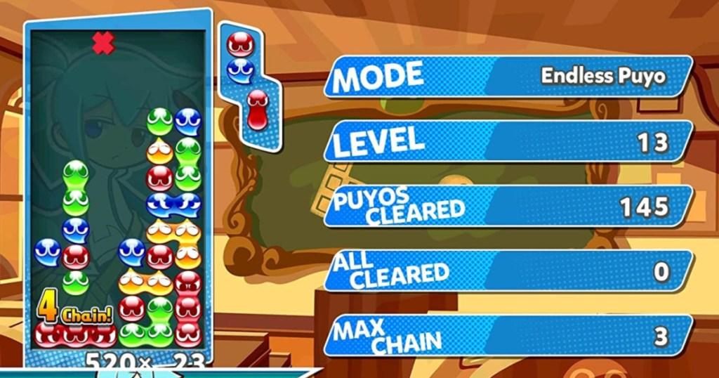 Puyo Puyo Nintendo Switch Tetris Game (1)
