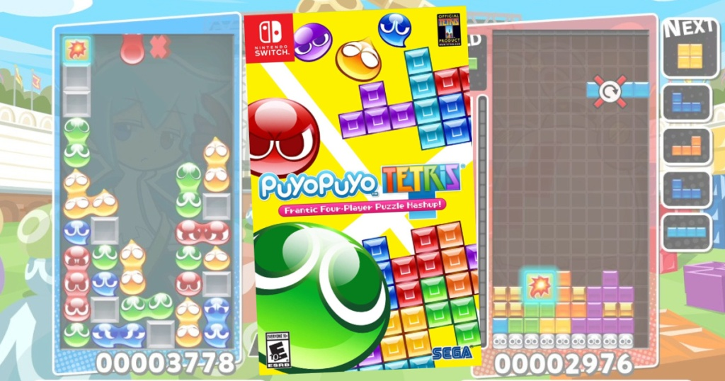 Puyo Puyo Nintendo Switch Tetris Game