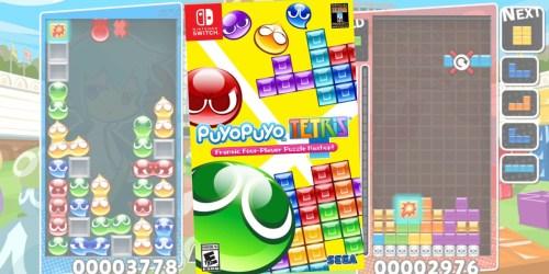 Puyo Puyo Tetris Nintendo Switch Game Only $19.99 on Amazon (Regularly $30)