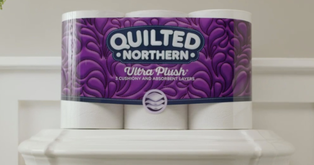 package of quilted norther ultra plush