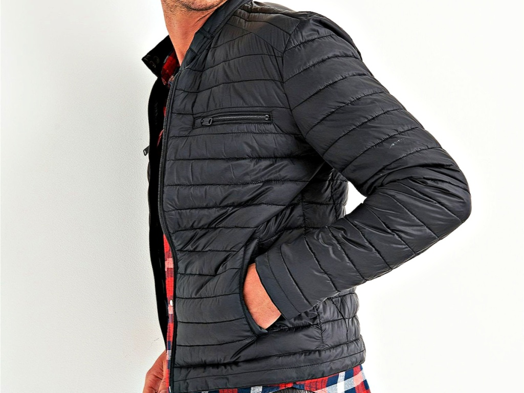 Quilted Racer Jacket