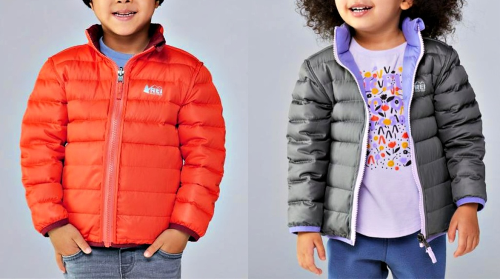 REI Co-op Toddlers' Reversible 650 Down Jacket