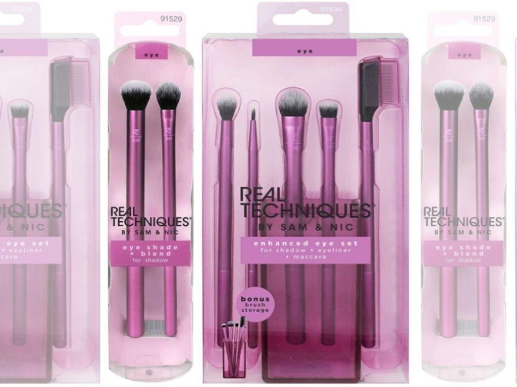 real techniques makeup brush sets