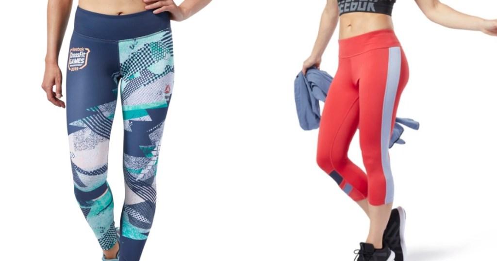 Reebok Leggings worn by female models