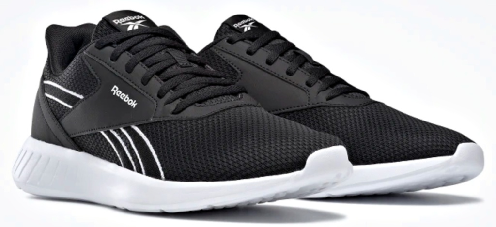 Reebok Men's Lite 2 Running Shoes black and white