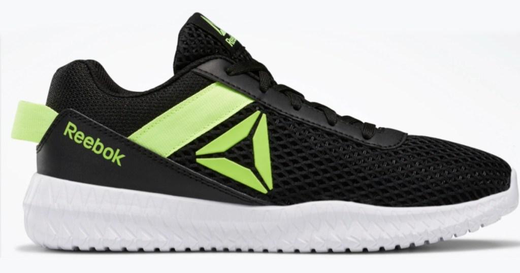 black and green Reebok Pre-School Boys Flexagon Energy Shoes
