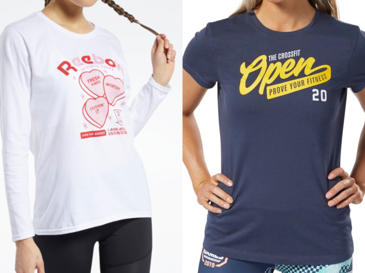 reebok women's apparel