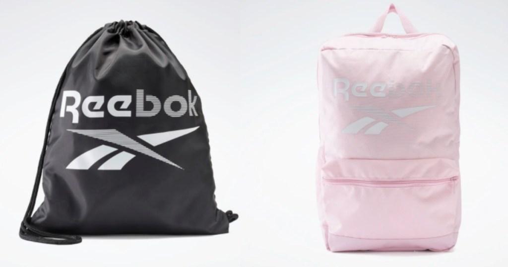 two Reebok bags