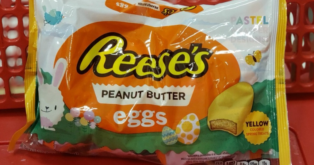 Reese's Peanut Butter Eggs in store basket