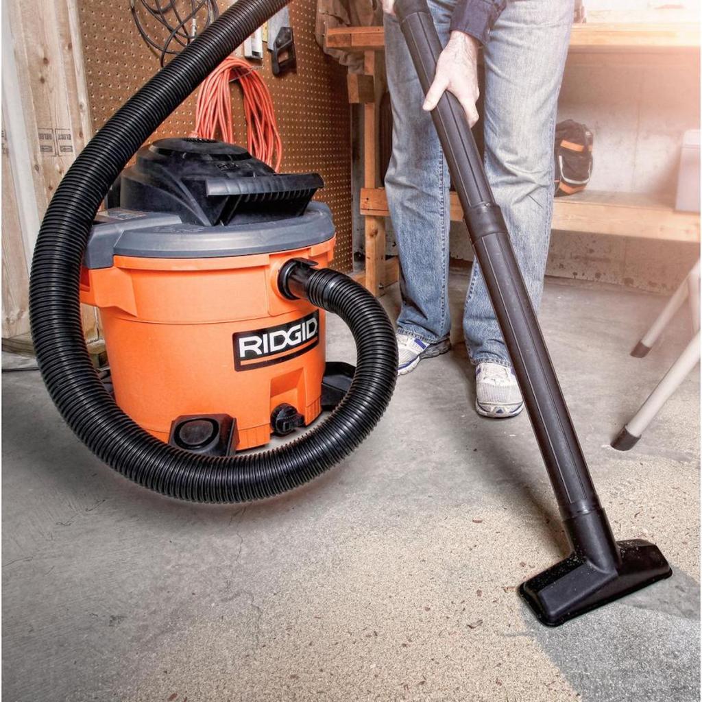 ridgid wetdry vacuum with floor vacuum attachment