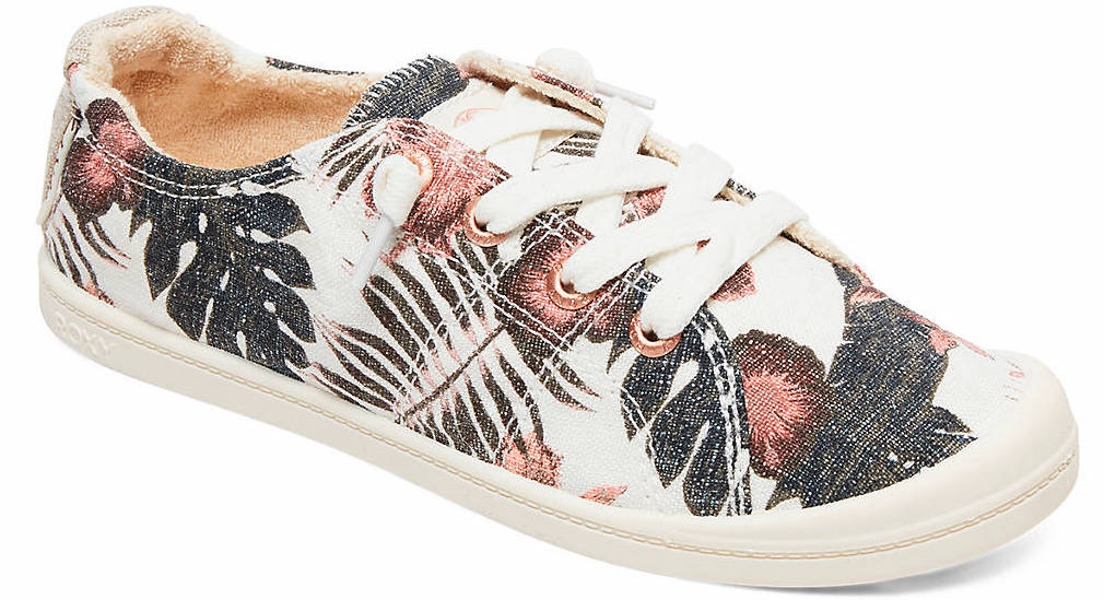 floral sneaker