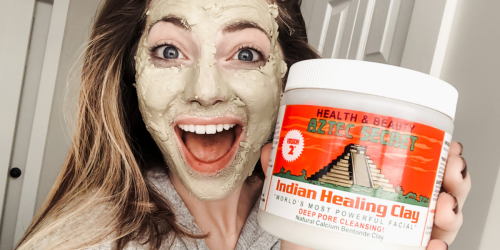 This Indian Healing Clay Mask Is a Game Changer & Now You Can Score a Great Deal on Amazon!