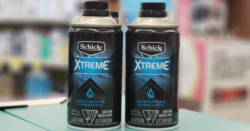 Schick, Edge and Skintimate coupons (1)