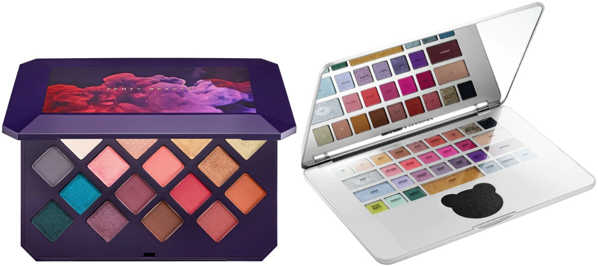 Beauty eyeshadow palettes - two styles