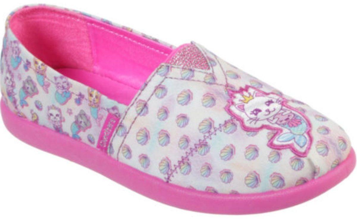girls right foot slip on shoe