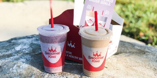 Buy One Smoothie King Smoothie, Get One 50% Off | Online Only